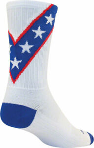 SockGuy SGX Daredevil Socks | 6 inch | White | L/XL