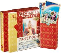 Alchemia Tarot Deck 78 Card set Ako Morimura Takaki illustration Book New Japan