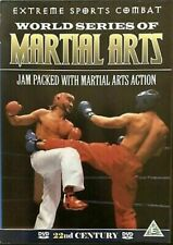 New listing World Series of Martial Arts DVD Extreme Sports Combat Tournament LIVE Action