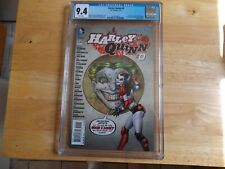 HARLEY QUINN #0 - CGC 9.4 - 17 ARTISTS INVOLVED IN THIS ISSUE!