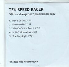 (BQ575) Ten Speed Racer, Girls And Magazine - 2002 DJ CD
