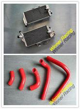Aluminum Radiator&Silicone Hose HONDA CR250R CR 250 2-STROKE 2005-2007 2005 2006