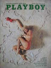 August 1970 PLAYBOY BUNNIES OF 1970  MYRA BRECKINRIDGE  SHARON OLIVIA CLARK