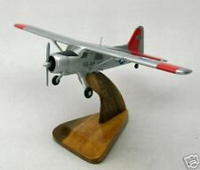 DHC-2 Beaver de Havilland Airplane Wood Model Free Ship