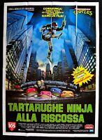 M201 Manifesto 4F Ninja Turtles Die Rettung Geheimnis Ooze Schildkröten Mutant