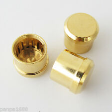 High Quality Noise Stopper Gold Plated Copper Dust Cap for RCA Jack Female (US)