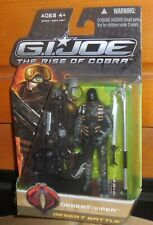 GI Joe Rise of Cobra DESERT VIPER Mosc New Roc