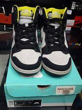 Nike Dunk High Pro SB Black/Base Grey Lifestyle Suede Skateboarding 305050-017 9