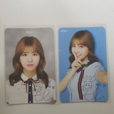 Twice Skoolooks Ver.1+Ver2 MOMO MO-MO Official Photo Card Photocard K-POP