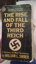 Rise and Fall of the Third Reich History of Nazi Germany 1st Crest Printing Mb9