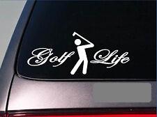 """Golf Life wedge iron clubs ball driver putter grips *E216* golf 8"""" STICKER DECAL"""