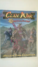 Clan War (legend of The Five Rings Unicorn Army Expansion) Paperback – 1999