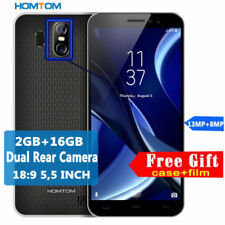 5.5''HD HOMTOM S16 TOUCH ID 16GB+2GB Android 7.0 All -Screen Smartphone Telefono
