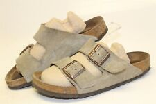 Birkenstock Used Germany Made Arizona Womens 8 39 Suede Sandals Slides Shoes