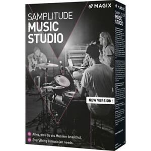 Magix Samplitude Music Studio (2021) Vollversion, 1 Lizenz Windows
