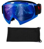 Wholesale Winter Ski Goggles Anti Fog Snowboarding Skiing Off Road Men Women