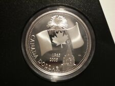 9SAH19 Canada Royal Canadian Mint 2005 PROOF SILVER dollar with box and COA