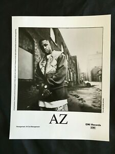 1995 AZ Rapper EMI Records MAFIOSO RAP Press Kit w/Photo