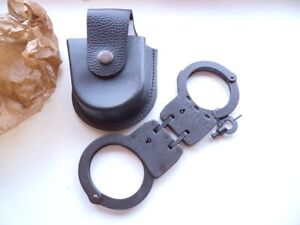Handcuffs BRS-3, new, made in Russia, + 2 keys, + new leather case, #1