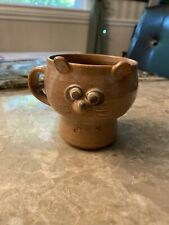 New ListingVintage Japanese Ceramic Raccoon Mug Marked By Artist