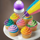Cake Baking DIY Rainbow Cream Piping Nozzles Converter Coupler Cake Decor