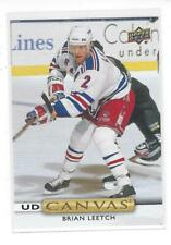 Brian Leetch 2019-20 Upper Deck Canvas #C253 New York Rangers