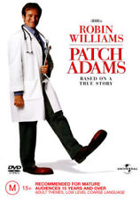 Patch Adams DVD ROBIN WILLIAMS BIOGRAPHY TRUE STORY BRAND NEW R4