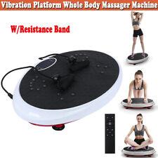 Vibration Platform Whole Body Massager Machine Exercise Fitness Silver W/ Remote