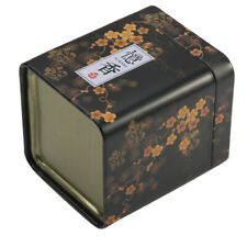 New ListingTea Leaves Metal Tin Cans Iron Square Boxes Herb Stash Jar Sealed Container