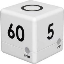 Tfa dostmann timer cube bianco digitale