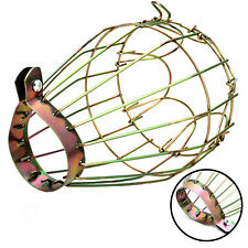 Industrial Iron Wire Bulb Guards Clamp Metal Lamp Cage Trouble Light Parts NS