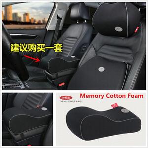 Universal Auto Armrest Cover Car Center Console Arm Rest Seat Box Pad Pillow New
