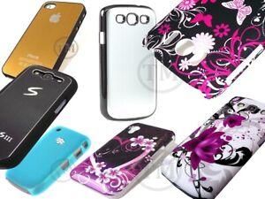 Slim Hard Back Pretty Designs skin case cover for Apple Blackberry Samsung Sony
