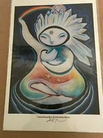 """Lindy Kehoe Print titled """"Crystal Guardian"""" Signed by the Artist"""