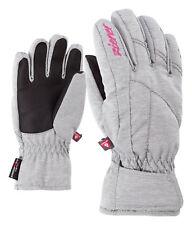 Ziener Mädchen Ski Handschuh LATI AS® PR GIRLS glove grau meliert 181934 823