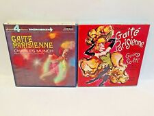 Offenbach Gaite Parisienne Munch Solti Lot Reel to Reel Tape 4 Track 7 1/2 IPS