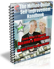 THE MILLION-DALLOR SELF IMPROVEMENT HANDBOOK PDF EBOOK RESALE RIGHTS