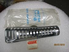 SUZUKI TC250 EXHAUST HEAT SHIELD NOS, RIGHT FRONT COVER EXCELLENT CONDITION