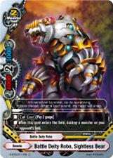 Buddyfight x 4 Battle Deity Robo, Sightless Bear [D-BT02/0117EN C] English Mint