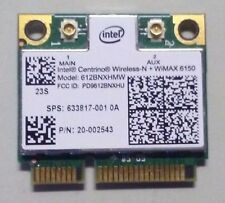 INTEL 6150 WIRELESS ADVANCED-N & WIMAX HALF-MINI-HEIGHT CARD MINICARD 612BNXHMW