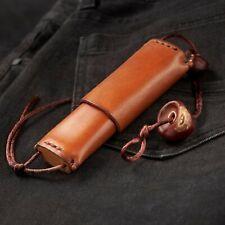 INRO Leatherman HIGONOKAMI MCUSTA folding knife Leather Pouch Wallet Bag Case