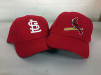 St. Louis Cardinals Cap Hat Embroidered STL Adjustable Curved Men