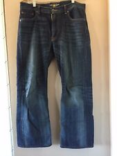 Men's Lucky Brand Jeans 181 Relaxed Straight 32W x 29L Super Soft Denim Blue