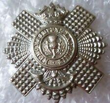 Badge- 4th and 5th Battalion Royal Scots Cap Badge (WM, ORG)