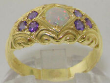 Birthday Band Natural Yellow Gold Fine Rings
