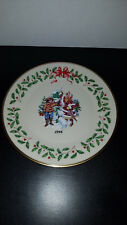 Lenox 6th Annual Holiday Collector'S Plate 1996 Letter to Santa No Box Mint