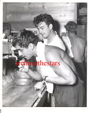 Vintage Perry Lopez William Campbell Tab Hunter BEEFCAKE 55 CANDID by JACK WOODS