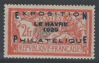 "FRANCE STAMP TIMBRE N° 257 A "" MERSON EXPOSITION HAVRE 1929 "" NEUF xx TTB  N611"