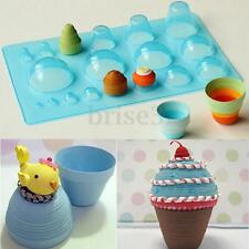 Mini Quilled 3D Half Ball Domes Quilling Papercraft Board Creation Mould Tool
