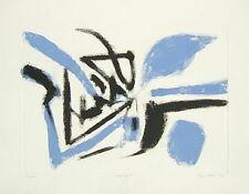 LEDDI Piero, Senza titolo. Acquaforte acquatinta a colori 1960